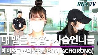 에이핑크 보미&초롱(BOMI&CHORONG), 내 맴을 녹용~ 사슴언니! - RNX tv