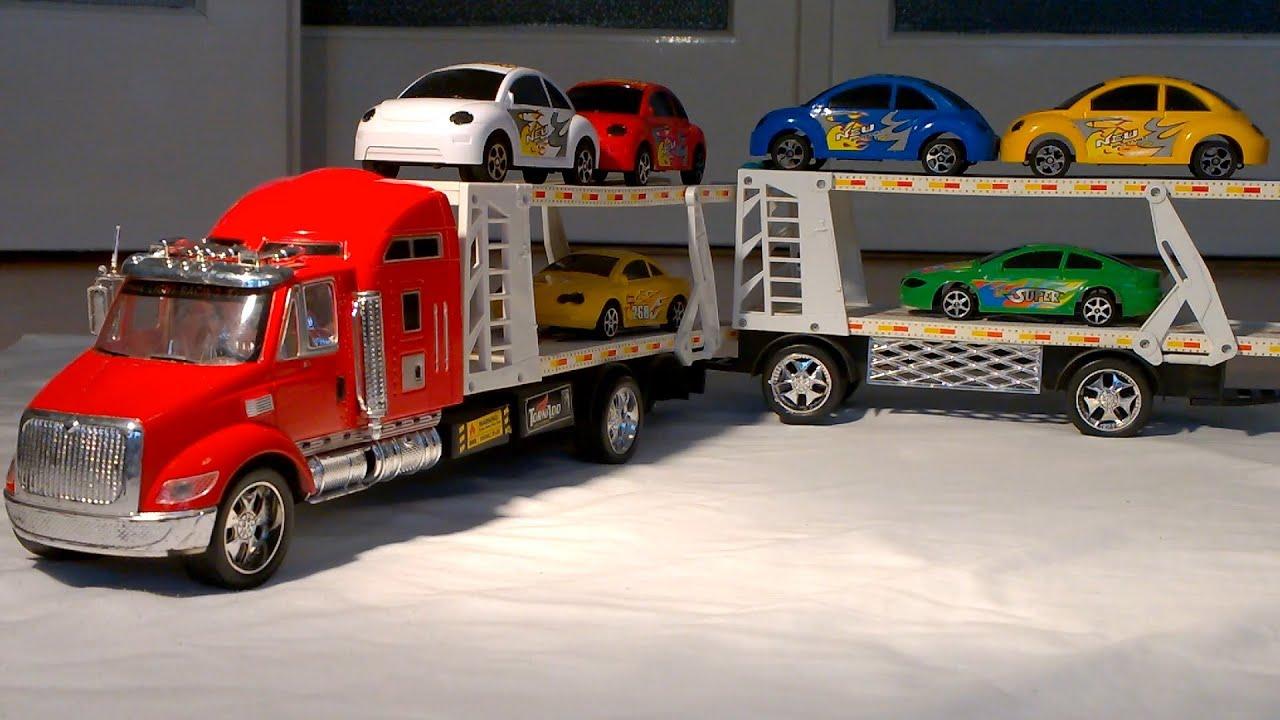 Very Big Car Carrier For Boys. Sehr Großen Autotransporter