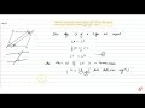 `A B C D` is a parallelogram andline segments `A X ,C Y` bisect the angles `A` and `C ,` respect...