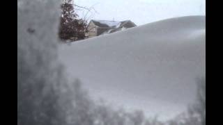 Blizzard Of 2011 Down With The Drift In 24 Seconds