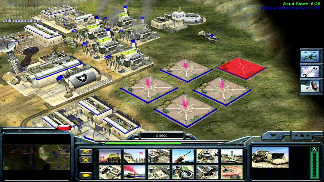 Command And Conquer Generals USA Campaign Mission 7
