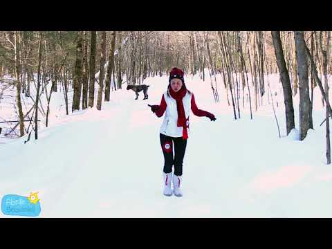 la Comptine de la Semaine #5-Dans mon sentier de neige-Abeille Beausoleil