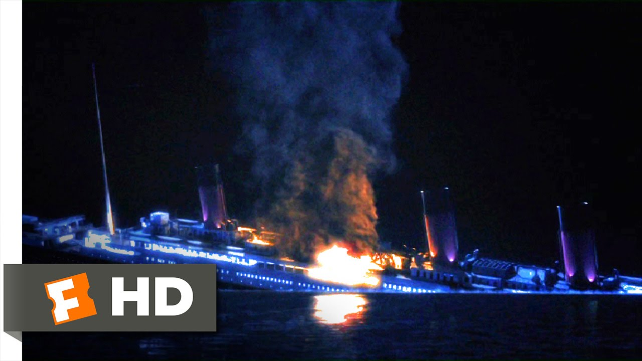 Titanic II (6/10) Movie CLIP - Ships and Planes Ablaze ...