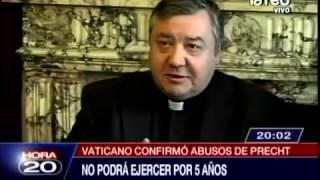 Confirman que sacerdote Cristian Precht se encuentra en terapia y no podrá ejercer en 5 años