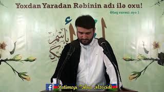 Hacı Ramil-Saban ayinin feziletleri-2018