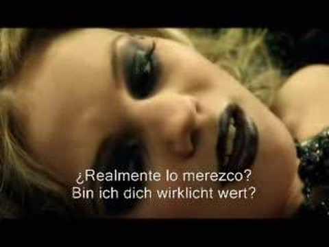 LaFee - Wer Bin Ich (subtitulado En Alemán Y Español)