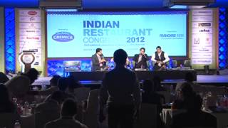 Rahul Akerkar at Indian Restaurant Congress 2012