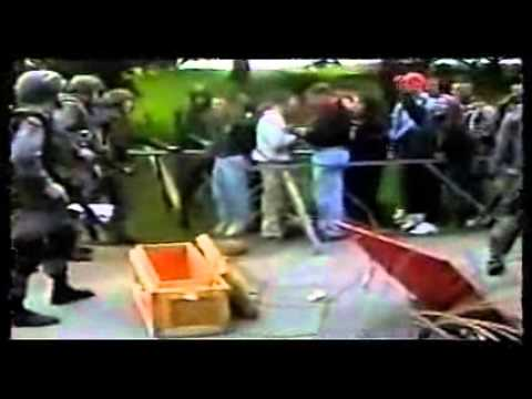 Martial Law Exercises in America -- Police State 2000