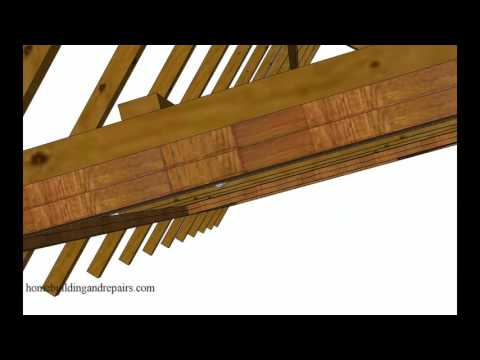 Interior Structural Wood Framing Ceiling Support Ideas for Hanging Swings