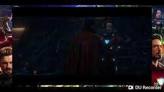 Guardianes de la galaxia contra Los Vengadores Avengers Infinity War. Parte 1/2. París ps