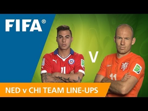 Netherlands v. Chile - Teams announcement