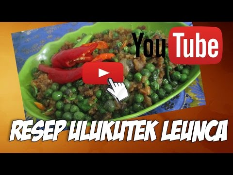 👩🍳Resep dan cara membuat ulukutek leunca - resep masakan sunda👨🍳