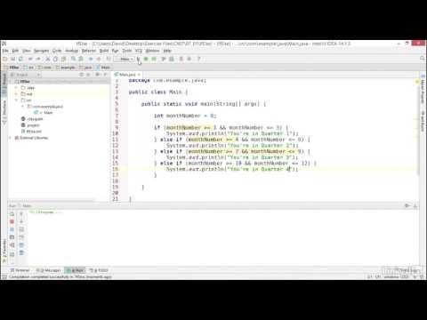 42- Programming conditional logic - Java (Beginner) Programming Tutorial