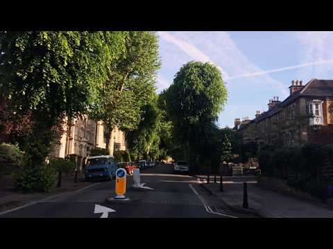 Corner of St John's Road and Chantry Road, Clifton, Bristol, England