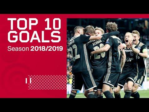 TOP 10 GOALS - Ajax 2018/2019