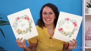 Floral Illustration Online Class