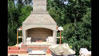 Fireplace Outdoor Construction