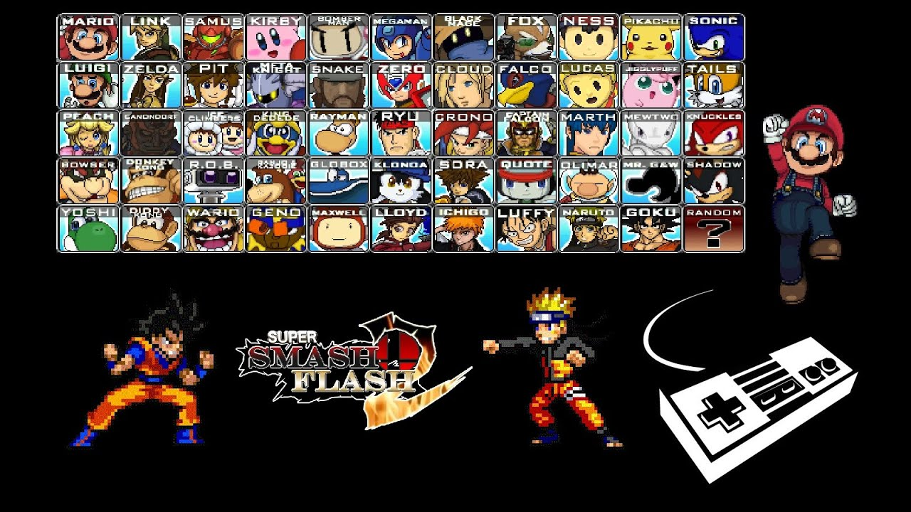 super smash flash videos