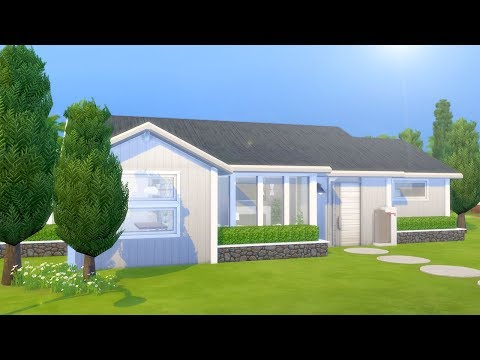 SIMPLE SCANDINAVIAN HOME // The Sims 4: Speed Build thumbnail