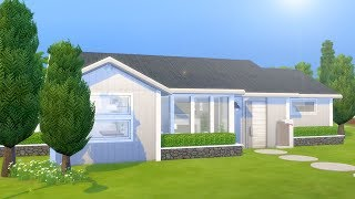 SIMPLE SCANDINAVIAN HOME // The Sims 4: Speed Build
