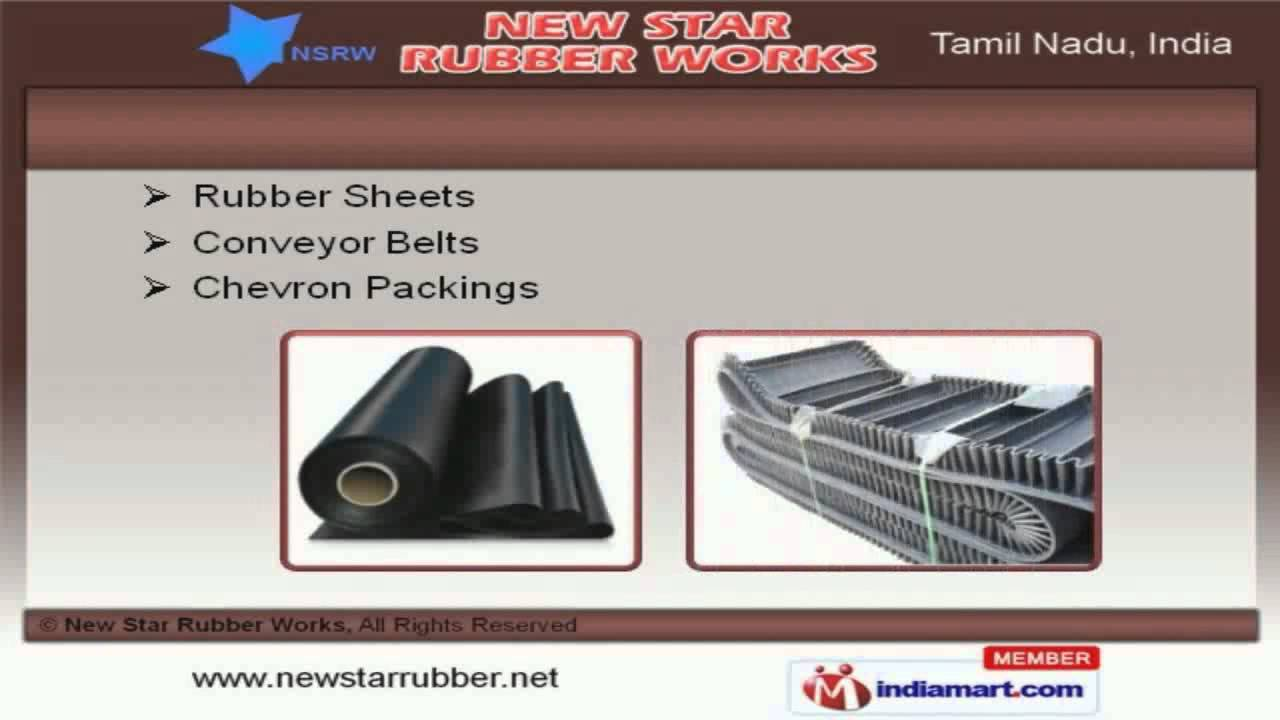 Rubber mats chennai - Industrial Rubber Components By New Star Rubber Works Chennai