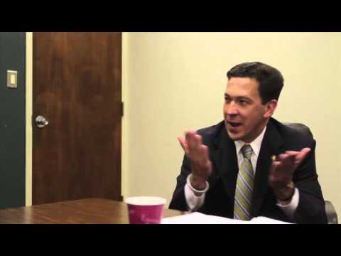 U.S. Senate candidate Chris McDaniel says he is a fighter