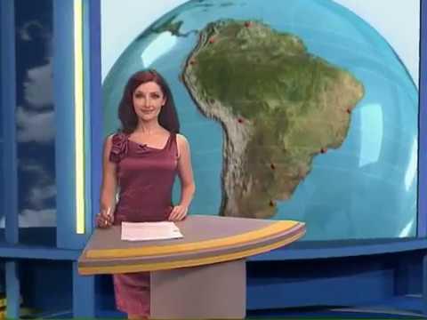 Elena Milevina The Weather forecast Meteo-TV Russia