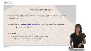 Programming Logic and Languages: Syntax and semantics |  | UPV
