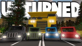 Unturned Germany Update: ALL THE NEW VEHICLES! (Dump Truck, Police Van, Eagle, Rabbit, Beetle)