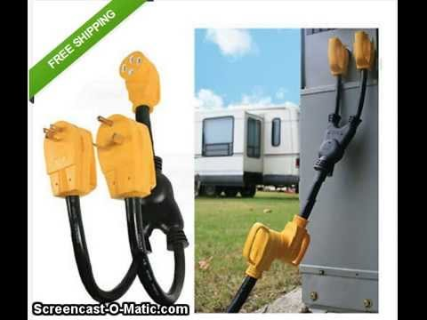 rv electrical hookup adapters