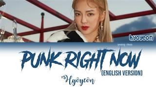 Download lagu HYO3LAU Punk Right Now Lyrics MP3