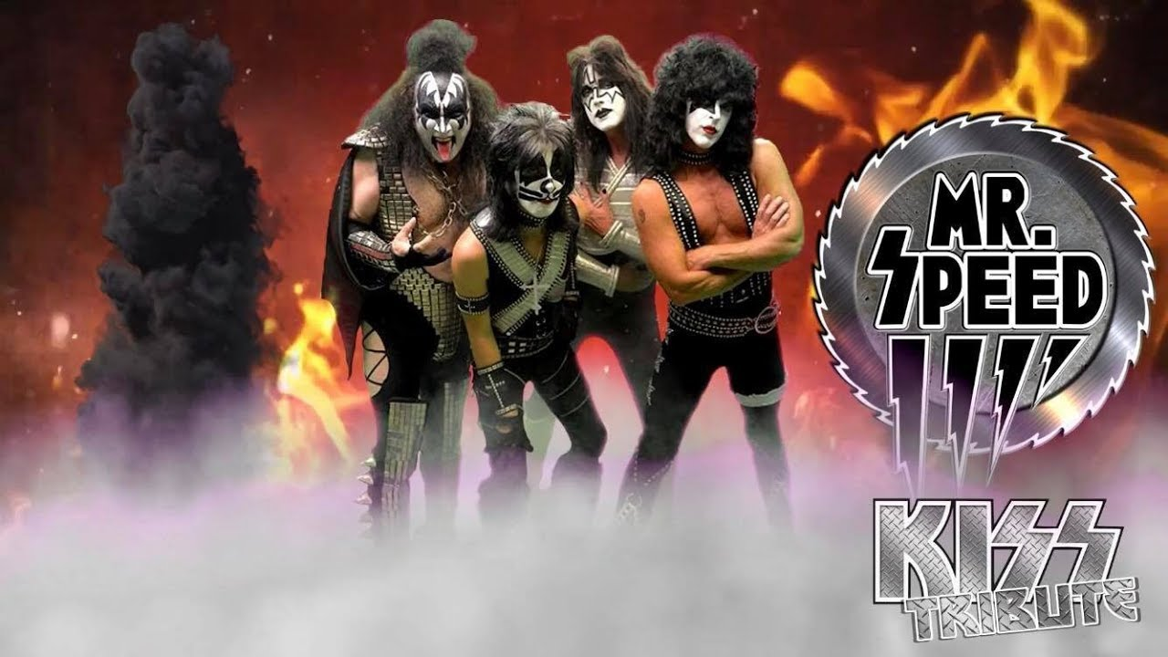 MR SPEED: World's Best KISS Tribute: News 2018