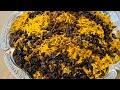 Adas polo   عدس پلو مجلسی   Persian lentil rice with Raisins   cooking with Nikarm Kitchen