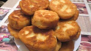 БЫСТРЫЕ ПИРОЖКИ - Съедаются за мгновенье!! Рецепт пирожков с картошкой