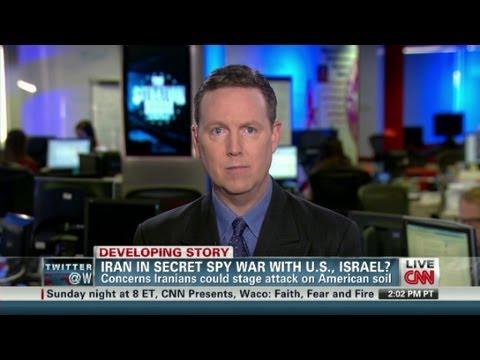 Iran in secret spy war?