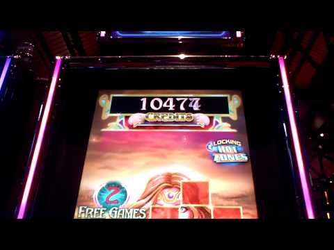 Sea Goddess slot bonus win at Sands Casino in Bethlehem, PA