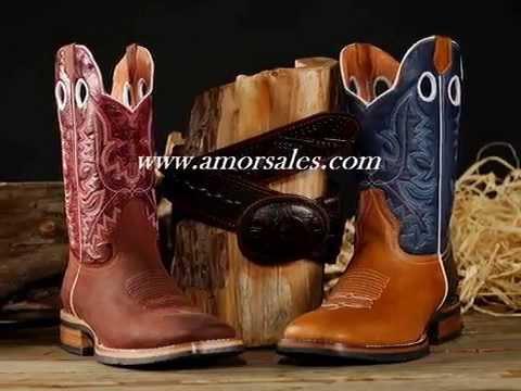 Bonanza Western Boots Botas Vaqueras Amor Sales Youtube