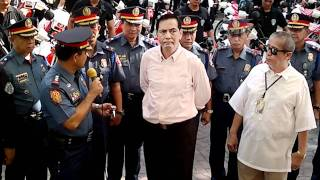 Cebu City Mayor Mike Rama turns over brand new motorcycles to police