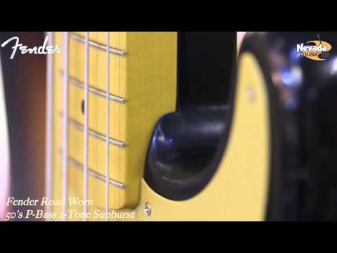Fender Road Worn 50's P-Bass 2 Tone Sunburst - Quick Look