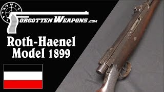 Roth Haenel Model 1899 - The First Semiauto Sporting Rifle?