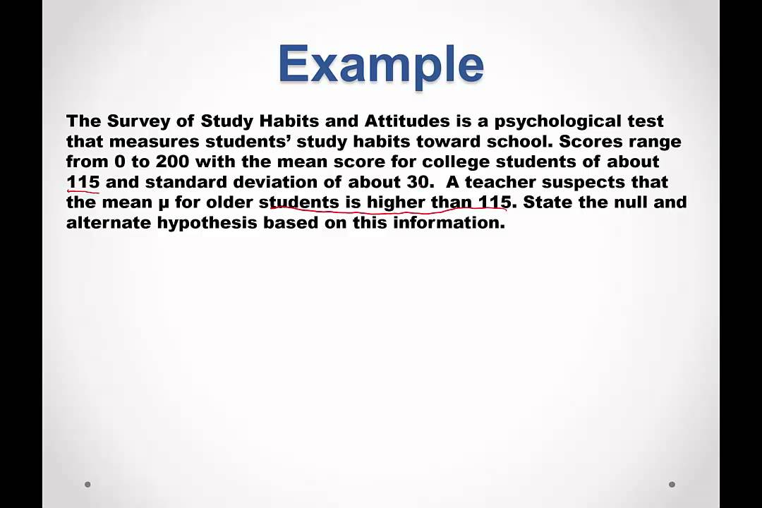 How to write your dissertation hypothesis