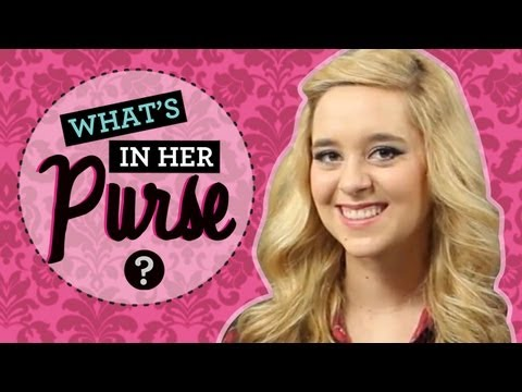 Liz from Megan & Liz Interview: What's in Her Purse with Liz Mace!