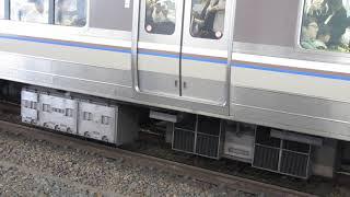 JR西日本 223系1000番台+223系2000番台 普通 姫路行き 膳所駅 201809