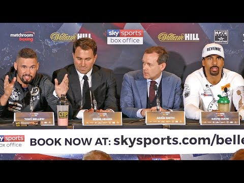 MUST WATCH!! Tony Bellew vs David Haye FINAL PRESS CONFERENCE | The Rematch
