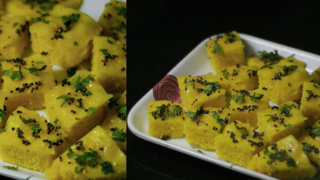 Khaman dhokla recipe ready mix vegan youtube khaman dhokla recipe ready mix vegan forumfinder Images