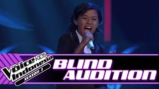 Kesia - Anak Jalanan | Blind Auditions | The Voice Kids Indonesia Season 3 GTV 2018