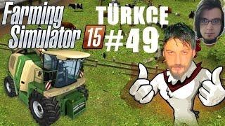 Farming Simulator 15 Türkçe Multiplayer | Çim Mafyası | Bölüm 49