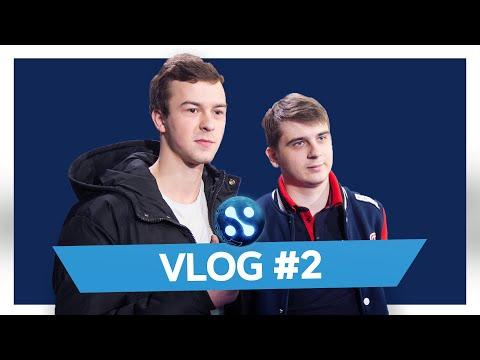 GAMBIT VLOG WePlay! Mad Moon S2 | Первые матчи на сцене