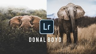 HOW TO EDIT LIKE @DONALBOYD | INSTAGRAM LIGHTROOM TUTORIAL