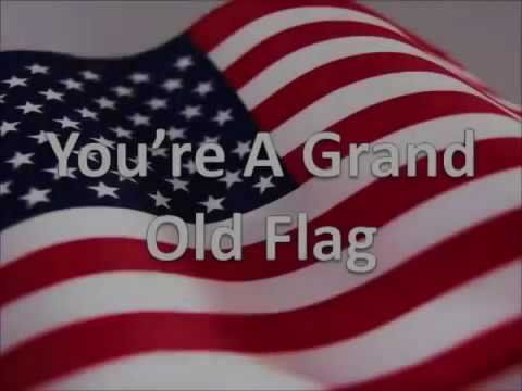You're A Grand Old Flag   Sing a long version for kids